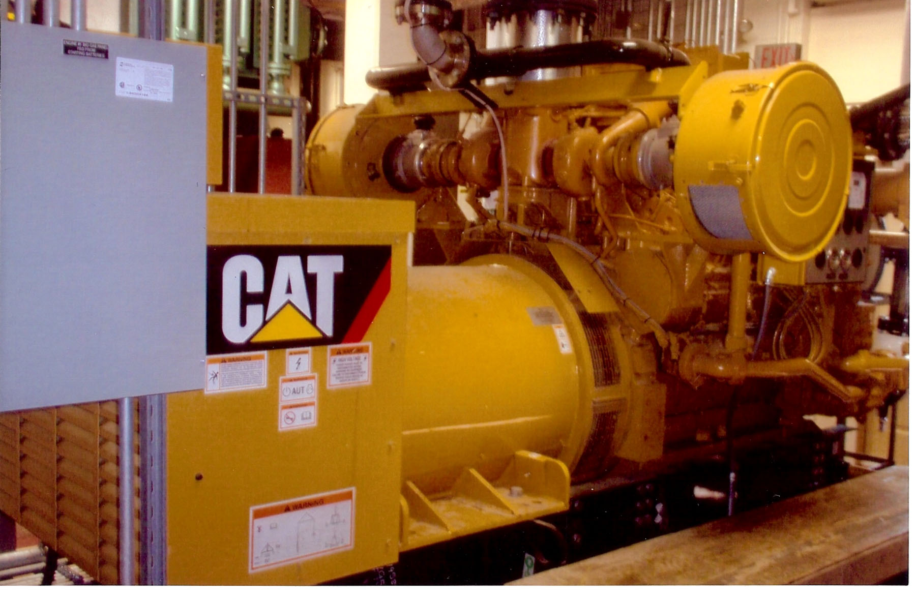 CO-GEN FACILITY/CAT GENERATORS INSTALLATION
