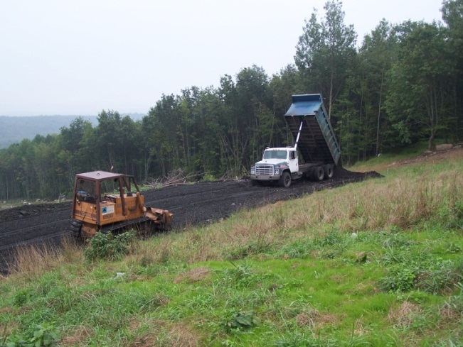 CLEARING AND ROAD BUILDING