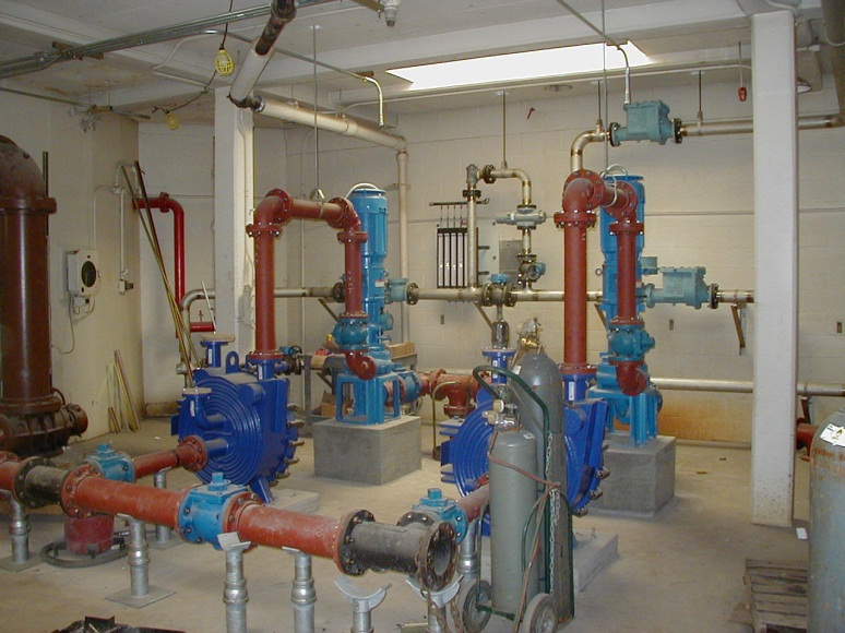 PROCESS PUMPS AND PIPING REPLACEMENT
